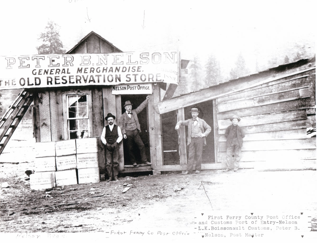 First Ferry County Post Office