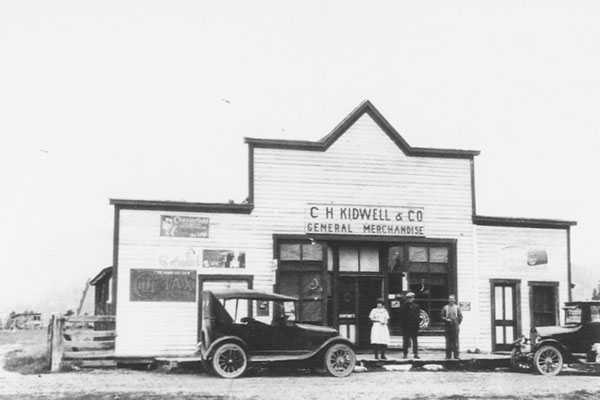 C.H.Kidwell Store, Laurier