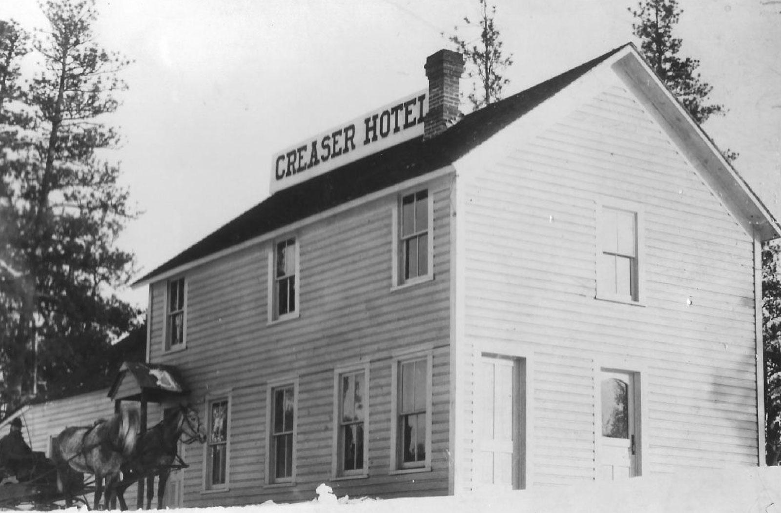 The Creaser Hotel in Republic, Washington