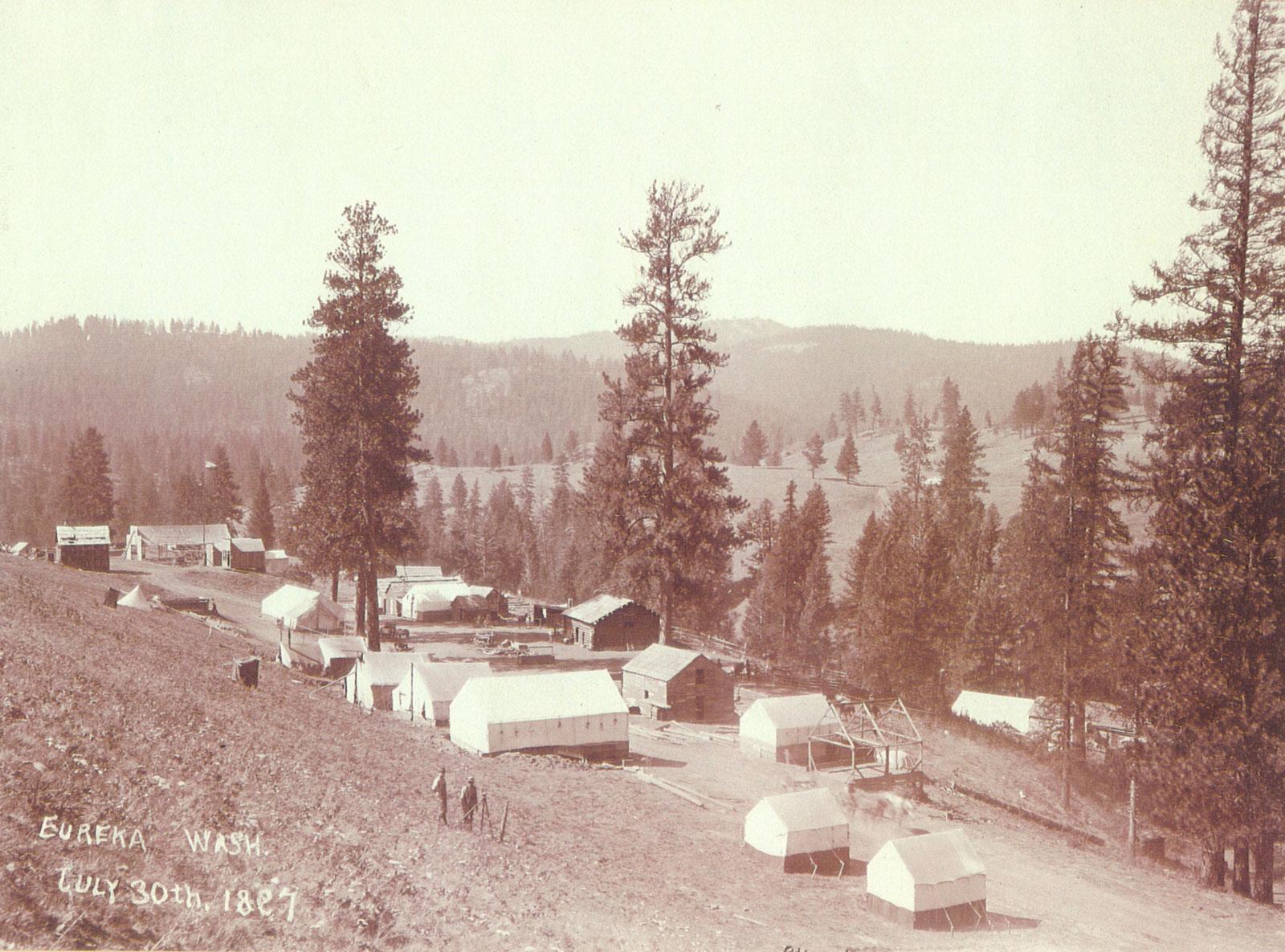 Eureka, Washington July 30th 1897