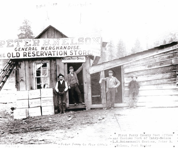 First Ferry County Post Office 1889