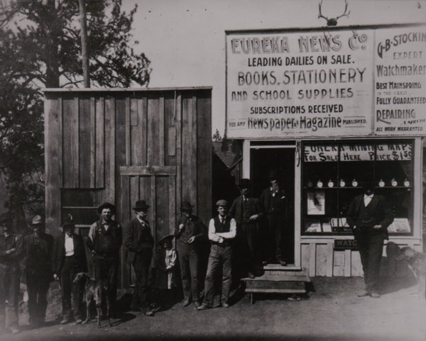 George Stocking Business about 1896