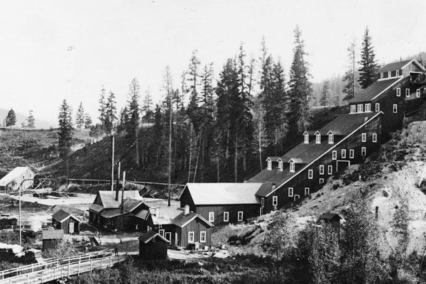 Patrick Clark's Republic Gold Mine and Mill