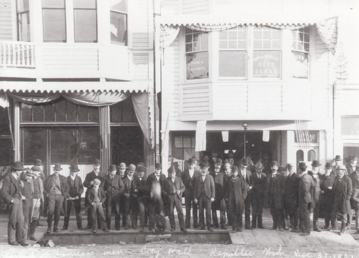 Republic City Hall, December 30, 1901
