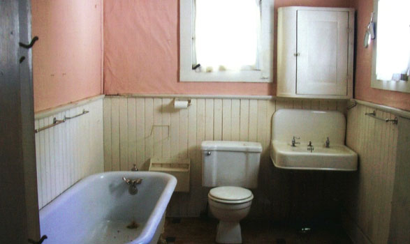 Slagle House Bathroom