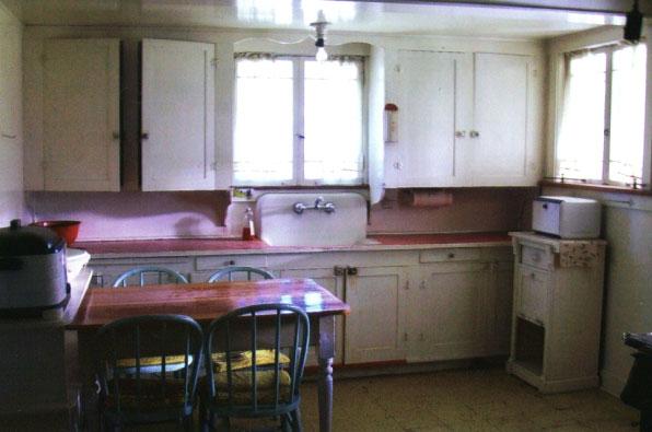 Slagle house kitchen